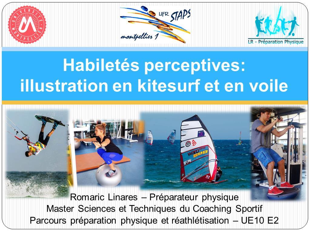 Les habiletés perceptives: illustration en kitesurf et en voile