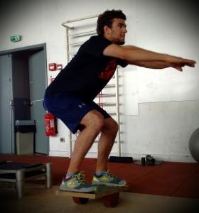 Travail d'équilibre pour Nicolas - © Romaric Linares