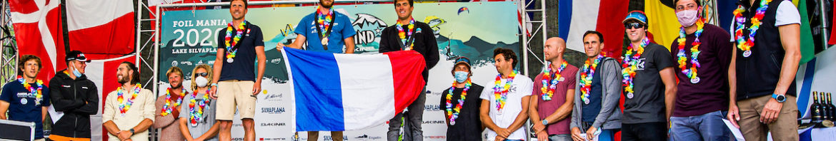 Vanora Engadinwind by Dakine 2020, Silvaplana, Switzerland. PRIZE GIVING CEREMONY  22 August, 2020  © Sailing Energy / Engadinwind 2020